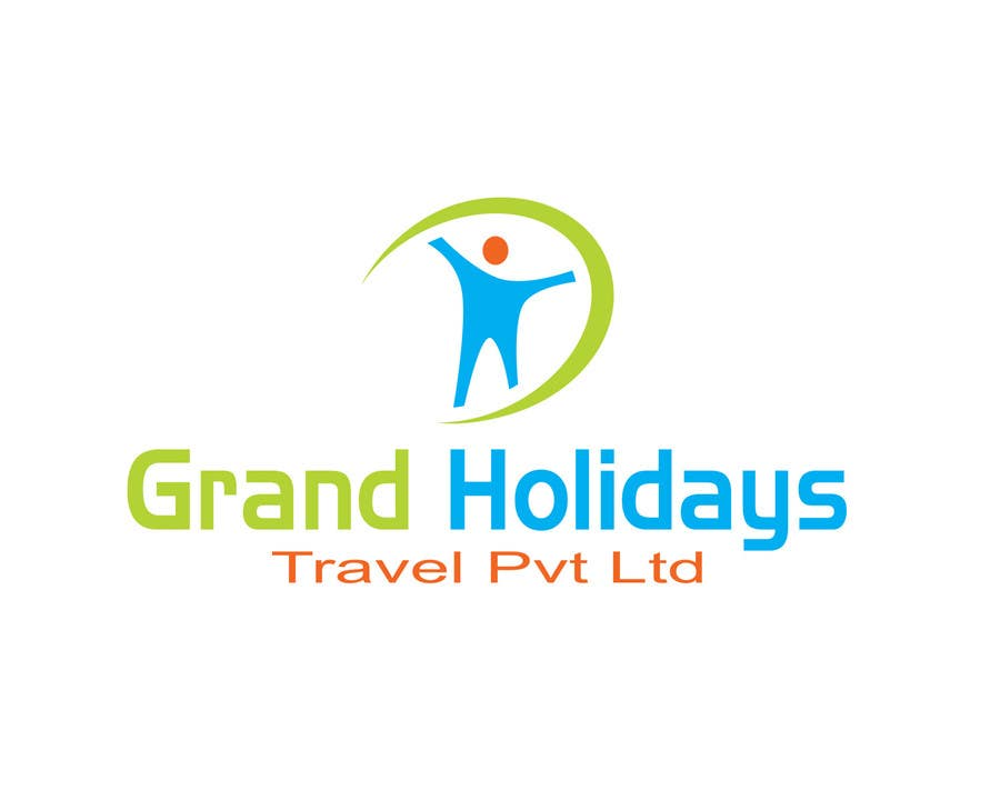 Konkurrenceindlæg #44 for Design a Logo for travel company 'Grand Holidays Travel Pvt. Ltd.'