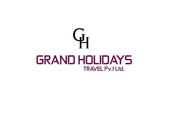 #29 for Design a Logo for travel company 'Grand Holidays Travel Pvt. Ltd.' by dmitrigor1