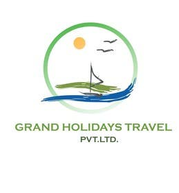 #13 for Design a Logo for travel company 'Grand Holidays Travel Pvt. Ltd.' by VikiFil