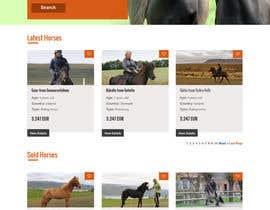 Nro 55 kilpailuun Design a horse searching website käyttäjältä lee800154