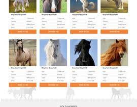 Nro 43 kilpailuun Design a horse searching website käyttäjältä JazibUllah