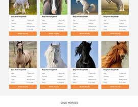 Nro 44 kilpailuun Design a horse searching website käyttäjältä JazibUllah