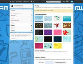 #8 untuk Design a Twitter background for oleh annahavana