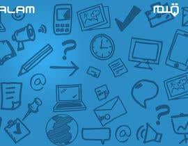 Nro 9 kilpailuun Design a Twitter background for käyttäjältä annahavana