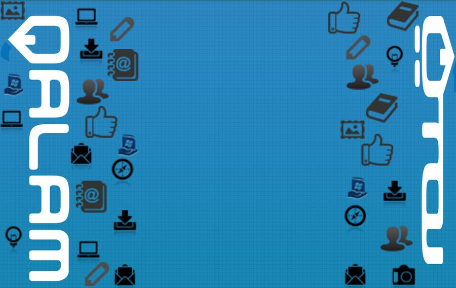 Proposition n°5 du concours Design a Twitter background for