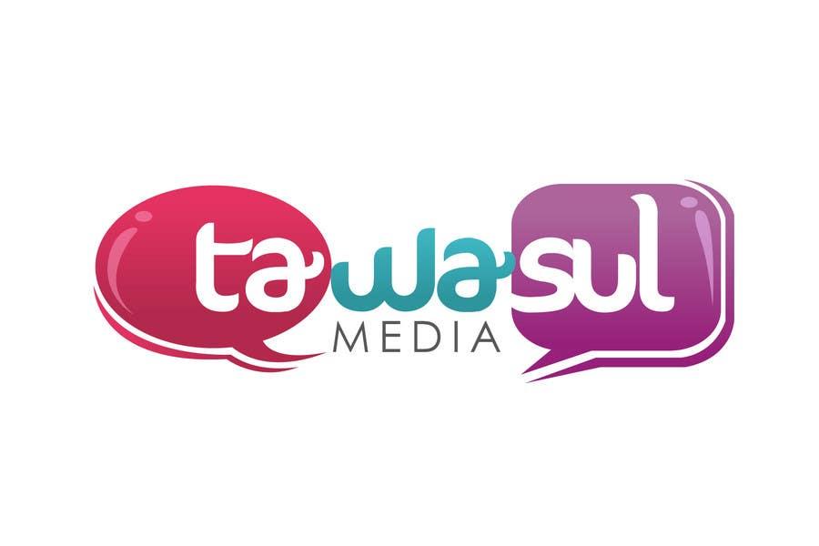 Kilpailutyö #246 kilpailussa Logo Design for Tawasul Media