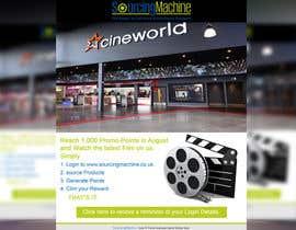 Nro 2 kilpailuun Design a Flyer- Watch the latest film on us email flyer design käyttäjältä mdmirazbd2015