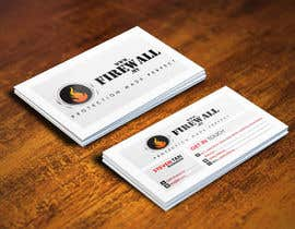 nº 24 pour Design some Business Cards for firewall par pointlesspixels