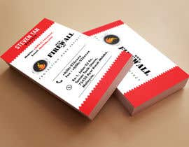 nº 36 pour Design some Business Cards for firewall par pointlesspixels