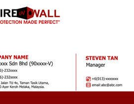 RERTHUSI tarafından Design some Business Cards for firewall için no 28