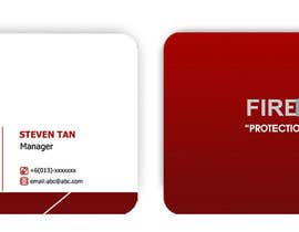 nº 29 pour Design some Business Cards for firewall par RERTHUSI