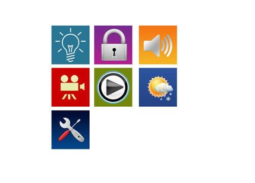 Kilpailutyö #9 kilpailussa Design some Icons for smartphone app tiles