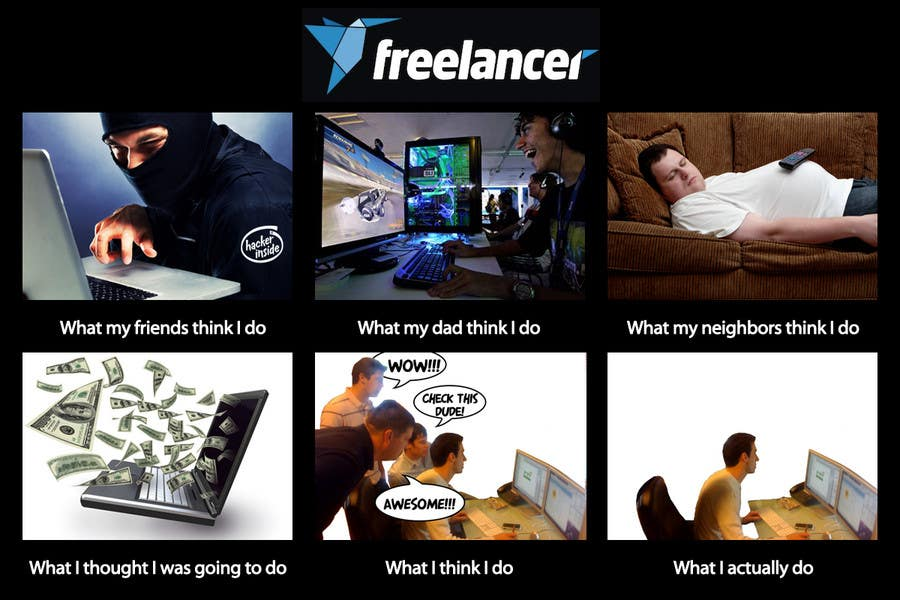 Contest Entry #45 for Graphic Design for What a Freelancer does!