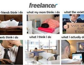 #11 para Graphic Design for What a Freelancer does! por ynohtnatedz