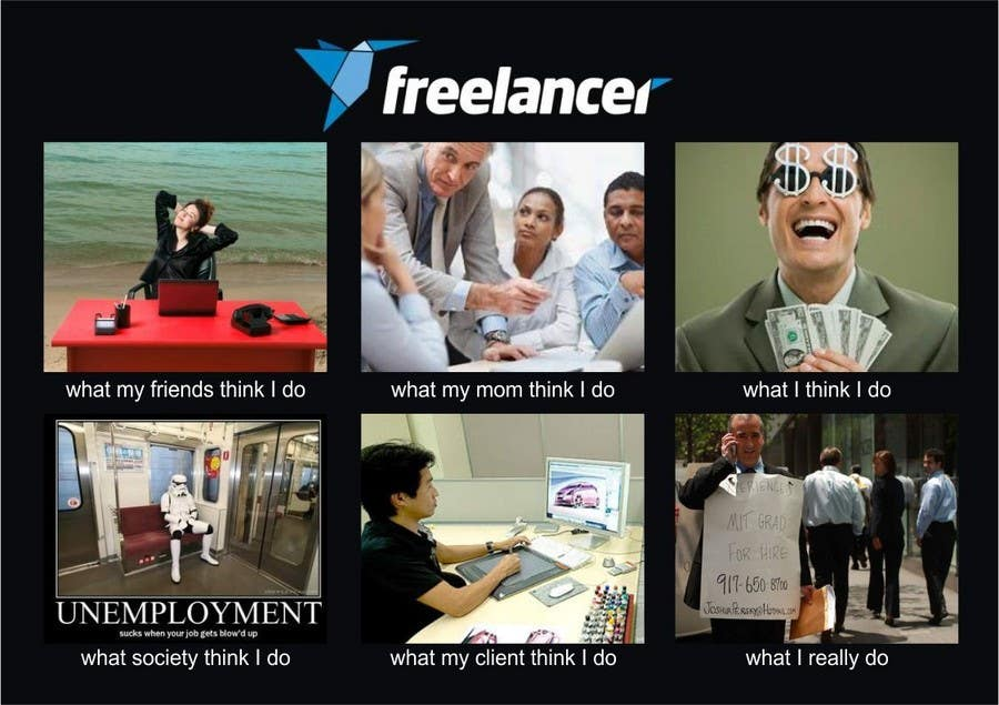 Contest Entry #132 for Graphic Design for What a Freelancer does!