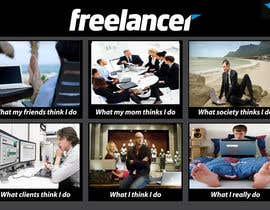 Hatembenarfa tarafından Graphic Design for What a Freelancer does! için no 133