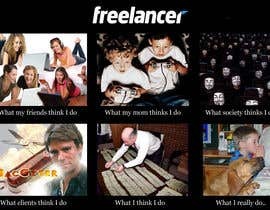 #46 para Graphic Design for What a Freelancer does! por FoThoMax