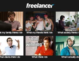 #111 untuk Graphic Design for What a Freelancer does! oleh HarisKay