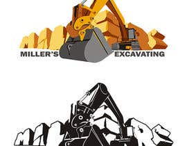 #51 for Logo Design for an Excavator company af Kuzyajr