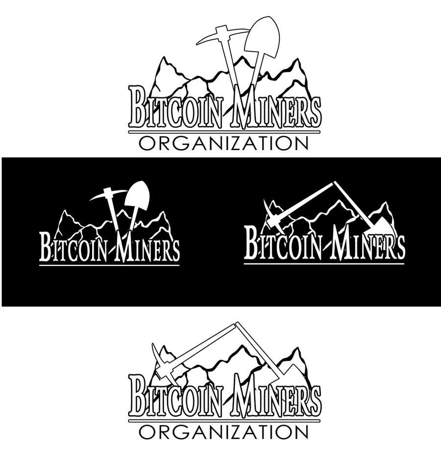 #22 for Logo and banner for Bitcoin Miners Organization by atomixvw
