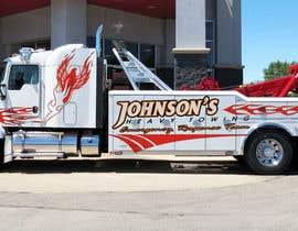 Nro 6 kilpailuun Tow Truck Wrap Design käyttäjältä andreybest1