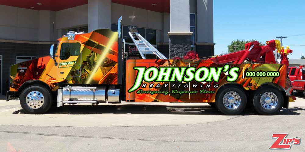 Kilpailutyö #7 kilpailussa Tow Truck Wrap Design