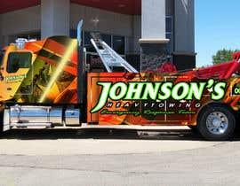 Nro 7 kilpailuun Tow Truck Wrap Design käyttäjältä macbmultimedia