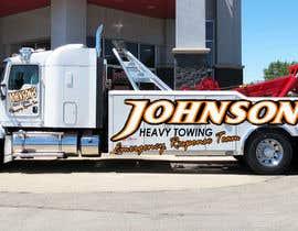 Nro 4 kilpailuun Tow Truck Wrap Design käyttäjältä alexandrtovmach