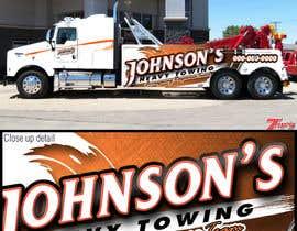 Nro 13 kilpailuun Tow Truck Wrap Design käyttäjältä Vrendengard