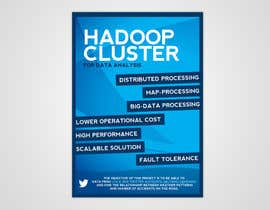 #10 for I need a poster design for the following topic Implimentation of Hadoop Cluster for data analysis af pixelke