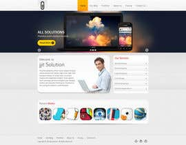 #9 para Design a Website Mockup for IT Company por tania06