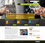 Bài tham dự #5 về Graphic Design cho cuộc thi Design a Website Mockup for IT Company