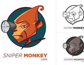 #63 for Design a Logo for SniperMonkey.com  . NEED URGENTLY af tsukasaxen