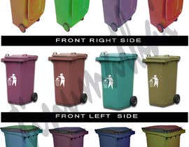 tinukudassanadu tarafından Design a Wheelie Bin in any colour with different views için no 6