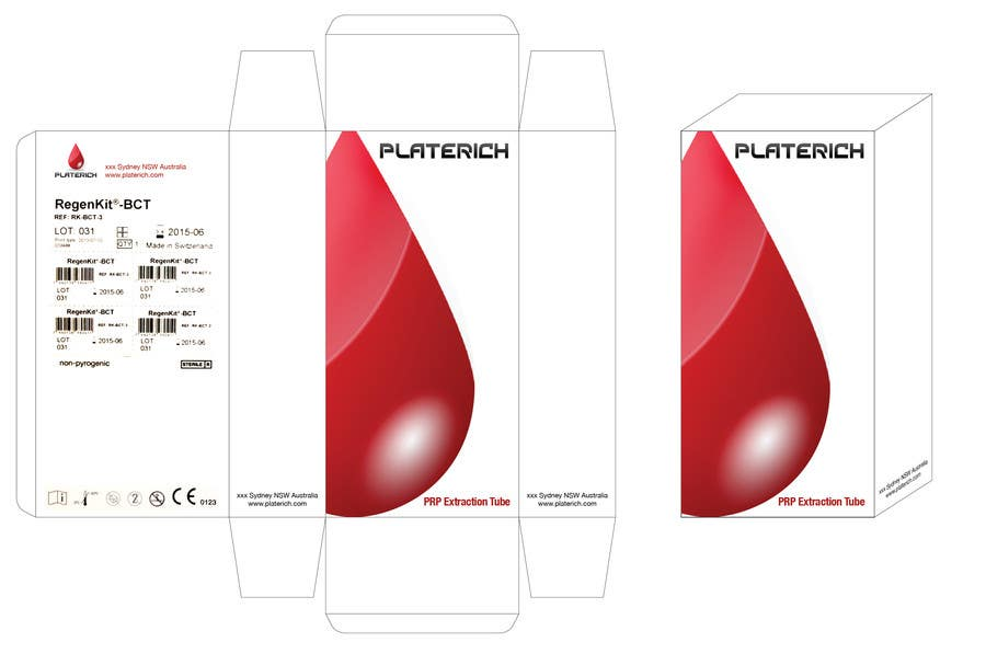 #18 for Create Print and Packaging Designs for box packaging for Platerich by kraphic