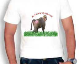 #19 for Design a T-Shirt with a funny monkey theme. by keerthiga19936