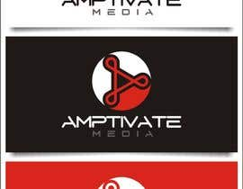 nº 126 pour Design a Logo for Amptivate Media par indraDhe