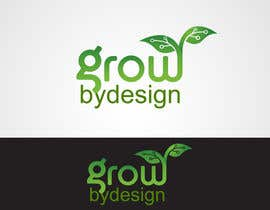 nº 60 pour Design a Logo for Grow By Design par laniegajete