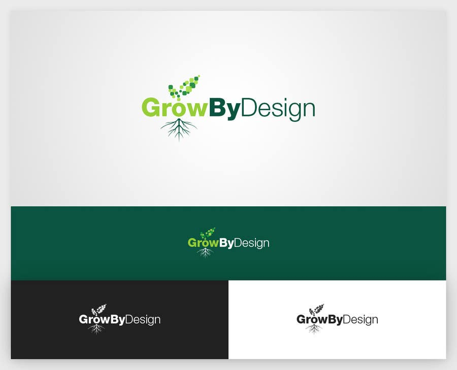 #59 for Design a Logo for Grow By Design by lemuriadesign