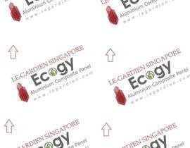 Nro 22 kilpailuun Design company back sticker käyttäjältä ShalukaSriyapala