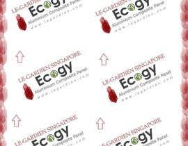 Nro 23 kilpailuun Design company back sticker käyttäjältä ShalukaSriyapala