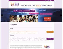 #18 for Design/Create Website for Non-Profit - Commercially Sexually Exploited Children (CSEC) af lauranl