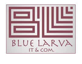 #137 untuk Design a Logo for blue larva company, letterhead and envelope samples. oleh kmdiab