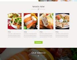 Nro 4 kilpailuun Design a Mobile Restaurant Homepage Mockup käyttäjältä lee800154