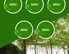 Nro 9 kilpailuun Design a Mobile Restaurant Homepage Mockup käyttäjältä lee800154