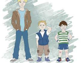 Nro 32 kilpailuun Cartoon Characters Concept Art käyttäjältä canache