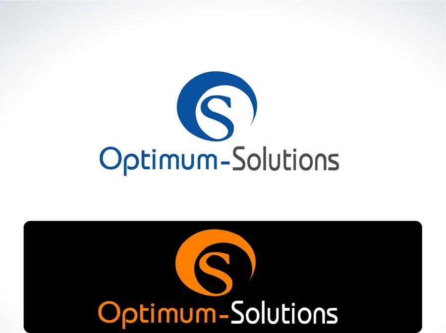 #40 for Design a Logo for OPTIMUM-SOLUTIONS by tfdlemon