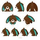 #59 for Character Design: Combination of a Bunny and a Bear by applemoment