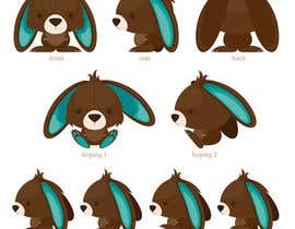 #59 para Character Design: Combination of a Bunny and a Bear por applemoment