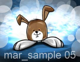 #38 cho Character Design: Combination of a Bunny and a Bear bởi velmarph2001